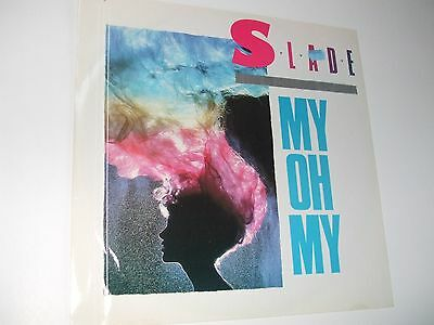 """Slade . MY OH MY . 12"""" 45rpm EP Record . 1983 . Rock ."""