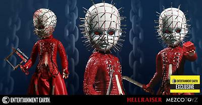 NEW Mezco Living Dead Doll RED BLOOD SPLATTERED CHASE Variant Pinhead - EE Excl
