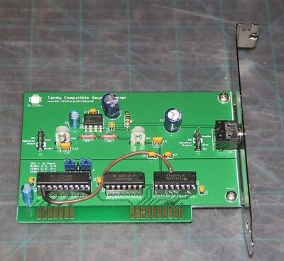 Lo-tech 8-bit ISA Tandy Compatible Sound Adapter v1.0 - Please See Vid & Desc