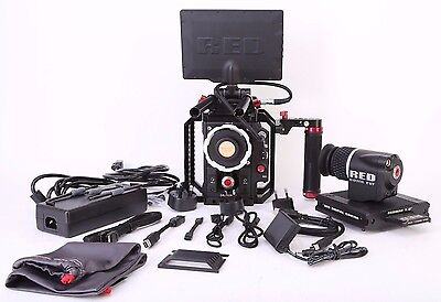 Red Epic X Dragon 6K Camera Kit With Cage And Accessories. Free Shipping.