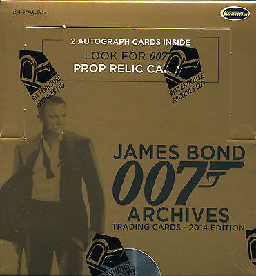 2014 James Bond Archives Factory Sealed Box
