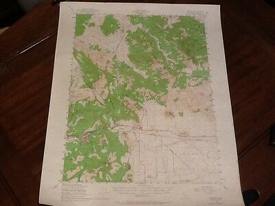 1950 US DEPT OF INTERIOR TOPO MAP LOT 32, Portola Calif.