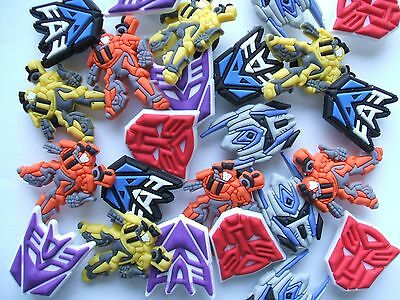 SHOE CHARMS - (B7) - inspired by TRANSFORMERS