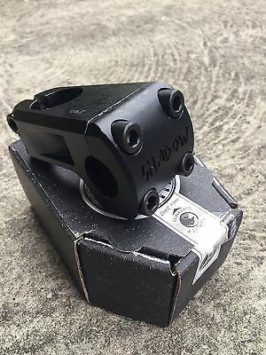 Brand New The Shadow Conspiracy Ravager Front Load Bmx Bike Stem Black