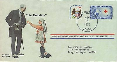 1979 - Norman Rockwell - Commemorative Society - The Donation