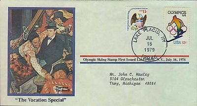 1979 - Norman Rockwell - Commemorative Society - The Vacation Special