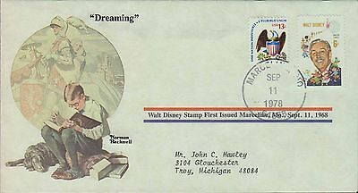1978 - Norman Rockwell - Commemorative Society - Dreaming