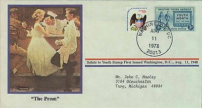 1978 - Norman Rockwell - Commemorative Society - The Prom