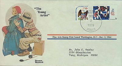 1978 - Norman Rockwell - Commemorative Society - The Young Artist