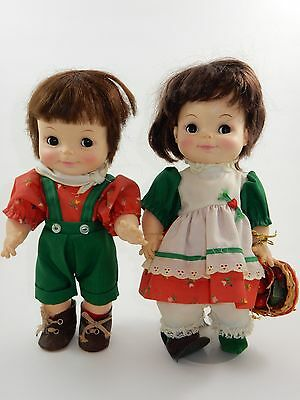 Effanbee Just Friends Collection Alpine Hikers Boy & Girl Dolls