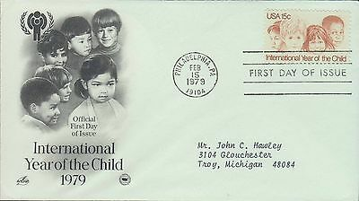 1979 - Fdc - International Year Of The Child