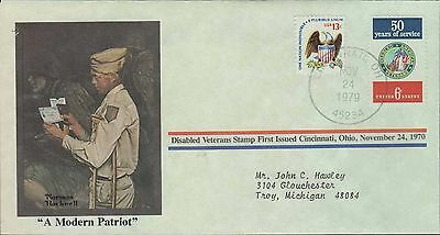 1979 - Norman Rockwell - Commemorative Society - A Modern Patriot