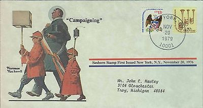 1979 - Norman Rockwell - Commemorative Society - Campaigning