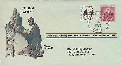 1979 - Norman Rockwell - Commemorative Society - The Brain Twister
