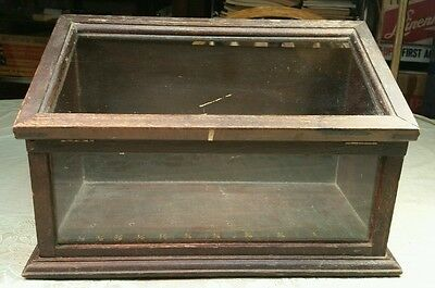Antique Table Top Display Case Store Mercantile Clothing A Stein Co Chicago IL
