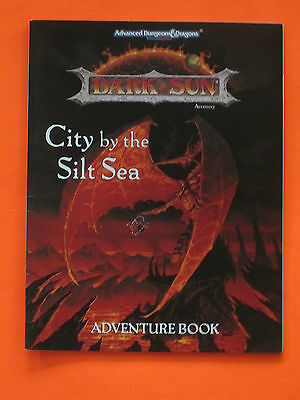 Advanced Dungeons & Dragons -  Dark Sun City By The Silt Sea Adventure Book ONLY