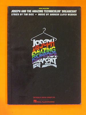 Joseph and the Amazing Technicolor Dreamcoat Vocal Songbook