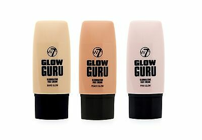 W7 Glow Guru Illuminating Face Highlighting Cream 35ml