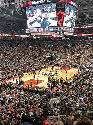 2016-17 Toronto Raptors Game Tickets for 2 Lower Bowl Seats ($260 value)