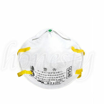 1~50PCS 3M 8210 N95 Particulate Paint Face Safety Respirator Adult Dust Masks