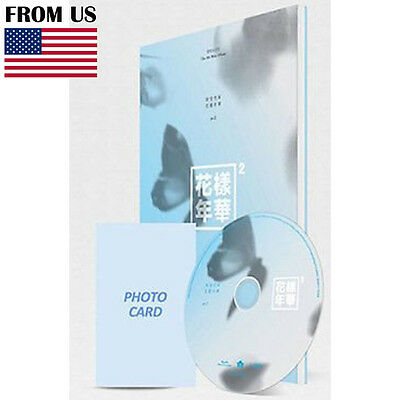 BTS BANGTAN BOYS 4th Album In The Mood For Love PT.2 Blue Ver. CD+Photobook+Gift