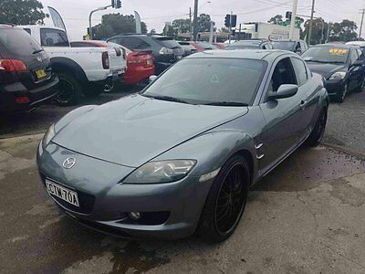2004 Mazda RX-8 Grey Manual 6sp M Coupe