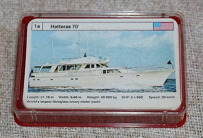 Vintage Dubreq Limited Top Trumps Card Game In Box - Motor Yachts