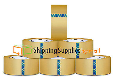 """Hot Melt Packing Adhesive Tape 3.0 Mil Box Shipping Tapes 3"""" x 55 Yds 12 Rolls"""