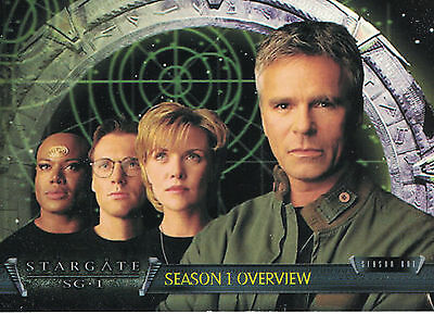 Stargate Season 1-3 Trading Card Set (72 Cards)