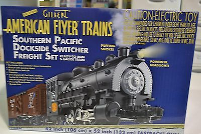 Gilbert American Flyer 6-49634 Southern Pacific Dockside Switcher Freight Set RT