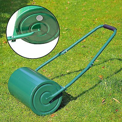 Outsunny 845-021 30 Litre Heavy Duty Water Or Sand Filled Garden Steel Lawn -