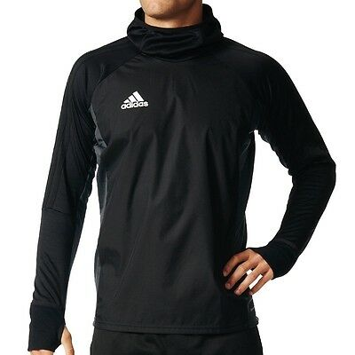 adidas Performance Tiro 17 Warm Top - Fußball Training Top mit Kapuze AY2867