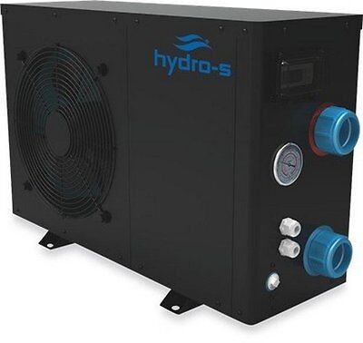 Hydro S Eco 12 Swimming Pool or Pond Water Heater - New 2017 Black Casing Model