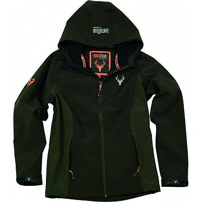 Chaqueta Workshell marrón/verde - Caza - Hunting - Uniformes