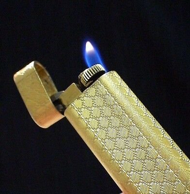 Briquet ancien @@ Les MUST de CARTIER motif RARE @@ LIGHTER Feuerzeug Accendino
