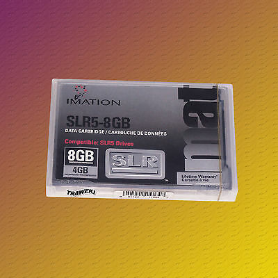 Imation SLR 5, 4/8 GB, Data Cartridge, Datenkassette, NEU & OVP