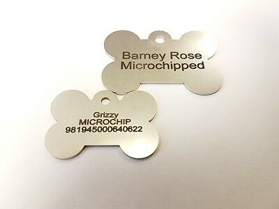 Stainless Steel Personalised Engraved Pet Id Tag, Pet Tag - Made In Sheffield