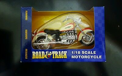 Maisto Road & Track 1/18 Scale VALKYRIE Motorcycle Diecast NEW in Package