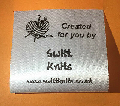 Sew in Personalised Knitted Craft labels 04