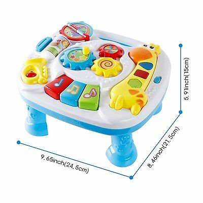 Musical Learning Table Light Interactive Educational Toy for Baby Kid Gift
