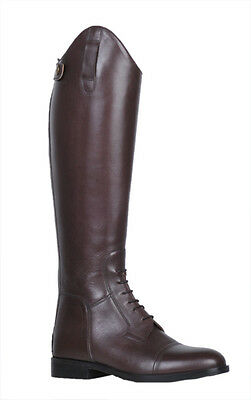 """SALE! HKM """"Spain"""" Soft Leather Riding Boots - Brown EU 44 - UK 9.5"""