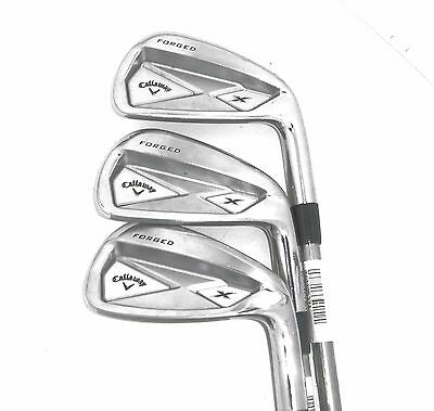 Callaway X Forged Irons Medio Juego/4,6 & 8/Project-x 5.5 Acero Regular Ejes