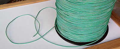 30m X 2mm GREEN DOUBLE BRAID WITH DYNEEMA® CORE, YACHT & MARINE ROPE tens: 200kg