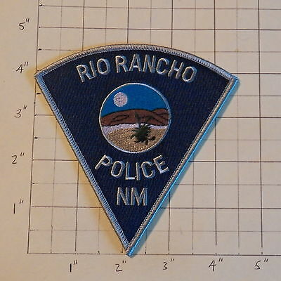 Rio Rancho (NM) Police Department Patch  -  Gray Trim                  ***NEW***