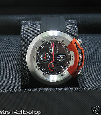 Ford Uhr ST Chronograph Edelstahl in Geschenkverpackung 35020444