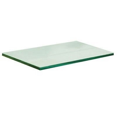 "New Tempered Glass Panel 12"" x 24"" x 3/16"" 1pc"