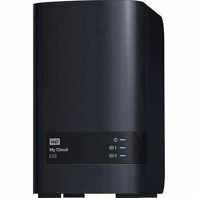 WD My Cloud EX2 Ultra 2-Bay 8TB(2x4TB WD RED) Nas Solution Anywhere access