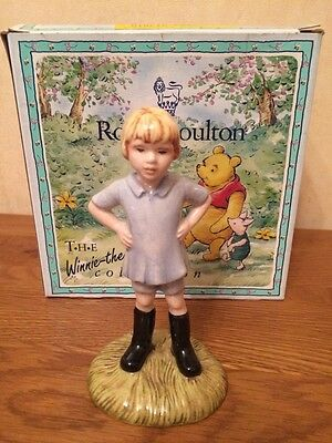 Royal doulton boxed WINNIE THE POOH collection WP9 CHRISTOPHER ROBIN - NEW
