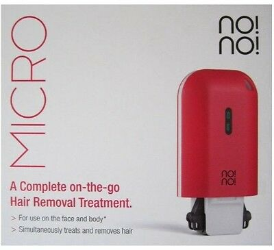 No! No! Micro Professional Hair Removal Face Body Lip Gift for her RED
