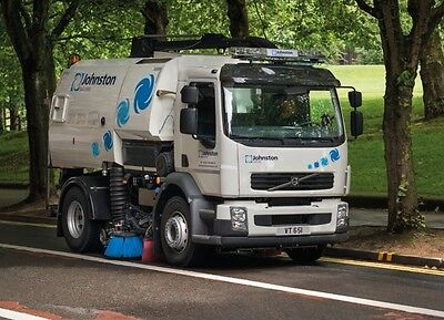 Johnston Truck Mounted Road Sweeper Self Drive Hire Rental Nationwide Coverage